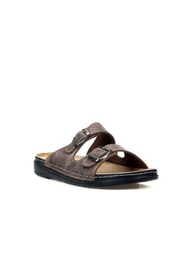 Hammer Jack Hakiki Deri Erkek Terlik / Sandalet 420 S103.000-M Kahve